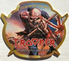 Iron Maiden Trooper Beer Mat Robinsons Stockport Manchester - Buy 2 Get 1 Free*