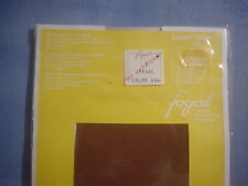 Fogal Style 124 Saint Trop Sheer to Waist Pantyhose Size Small in Tabac