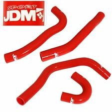 JDM Upgrade Silicone Rdiator Hose Red For 2008-2011 Mitsubishi EVO 10 X 4B11
