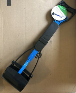 Master Paws Spring Action Scooper Pet Blue One-hand (rm-2)
