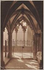 BR69292 in the cloisters  westminster abbey  london  uk judges 176 real photo