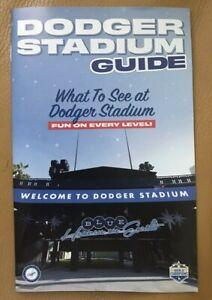 New 2021 Dodger Stadium Guide