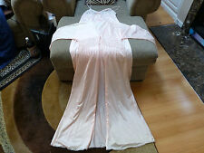 Vintage Undercover Wear Nightgown Robe Pegnoir Nylon Large **May BE a set**