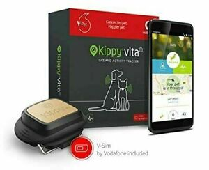 Kippy VITA S+ Dog Activity & GPS Tracker - Built in Health Monitoring