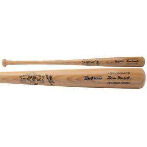 Stan Musial St. Louis Cardinals Autographed Vintage Blonde Rawlings Bat PSA