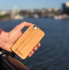 OXSY iPhone 7 Bamboo Wooden Slim Case