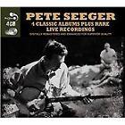 4 Classic Albums Plus Rare Live Recordings [Audio CD] Pete Seeger, Pete Seeger C