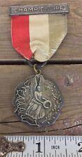 1941 Sterling Silver New England Association Amateur Athletics High Jump Medal