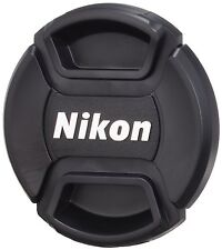 Center-Pinch Snap-on Front Lens Cap Cover + Lens Cloth for Canon D40 D50 52 mm