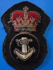 CANADA RCN Royal Canadian NAVY PO Petty Officer cap hat badge QC
