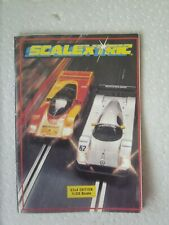 SCALEXTRIC MINI CATALOGUE 32ND EDITION