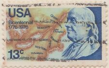 (USR-5) 1976 USA 13c bicentennial Benjamin Franklin