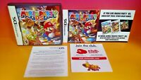 Mario Party DS  Nintendo DS Case, Cover Art, Manual  *NO GAME*