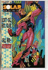 Valiant Comics Solar Man Of The Atom #39 December 1994 VF+