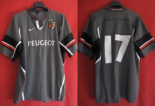 Maillot Rugby Stade Toulousain Peugeot Toulouse ST Porté n° 17 Jersey - XL
