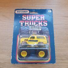 MATCHBOX - Supertrucks Monster Truck- Maddog - 1993 Boxed