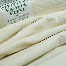 Bamboo Blend 50% bamboo 50% Cotton Wadding / batting quilt patchwork quilting