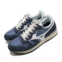 Mizuno GV87 RunBird Blue Navy White Men Running Casual Shoes Sneaker D1GA1905-14
