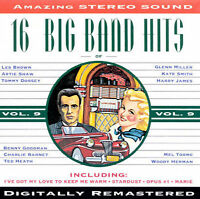 16 Big Band Hits, Vol. 9 by Various Artists (Cassette, Nov-1994, Michele)