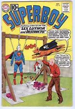 Superboy #92 October 1961 VG- last ten cent issue – Destructo the super-dog