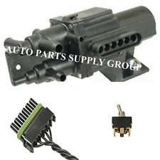 Fuel Dual Tank 6 PORT Selector VALVE + HARNESS + CONNECTOR SWITCH 128 +190 Gas