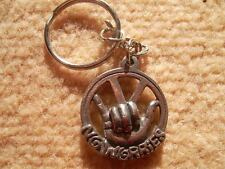 "volkswagen VW  VDUB ""NO WORRIES"" KEYRING CAST IN ENGLISH PEWTER"
