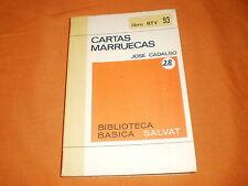 Cartas marruecas José Cadalso,ristampa dell'edizione del 1796,salvat 1970