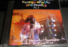 Best of GEORGE CLINTON & FAMILY part 1 CD Parliament Funkadelic Sterling Silver