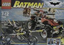 Lego BATMAN  7886 Batcycle: Harley Quinn's HAMMER TRUCK  New Sealed