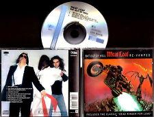 MEAT LOAF - Bat Out Of Hell RE-VAMPED + Bonus track Dead Ringer For Love RARE CD