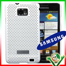 Original case Samsung for Galaxy S2 i9100 cover GRID Premium case WHITE