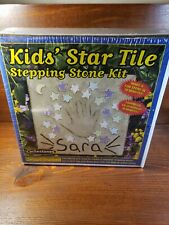 New Sealed Mosaic Stepping Stone Kit Kids' Star Tile You Made In Usa