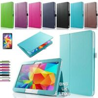 """Leather Folio Case Stand Cover For Samsung Galaxy Tab Pro 10.1"""" Inch T520 T521"""