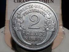 CIRA(66)(18) - 2 FRANCS - MORLON - ALU - 1945 B - RARE DE QUALITE !!!
