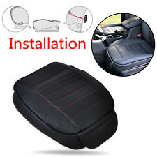 Universal Car Cushion Seatpad Seat Cover Breathable leather Sponge Double layer