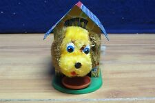 Vintage 'cuki' Tin Metal Dog Kennel Wind Up Toy - Made In Spain  566348