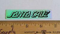 VINTAGE 1980's SANTA CRUZ FOIL STRIP SMA SKATEBOARD OLD SCHOOL NOS RARE STICKER