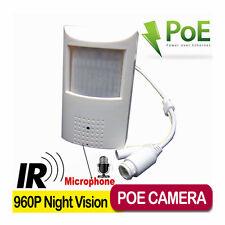 Hidden 960P Night Vision Pir Poe Ip Camera Pinhole 940nm IR leds Ip Camera Audio