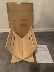Wood Beech Magazine Rack