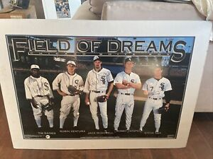 Vintage (1992) FIELD OF DREAMS CHICAGO WHITE SOX Autographed By All Five Players