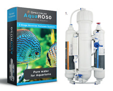 AQUARO 50/100gpd 3 STAGE COMPACT RO REVERSE OSMOSIS UNIT WITH ALL ACCESSORIES