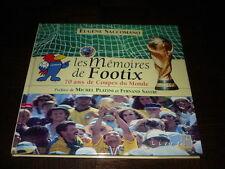 LES MEMOIRES DE FOOTIX - 70 ans de Coupes du Monde - Philatélie - Football
