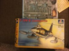 italeri F-104 G 1/72 german or belgian model Kit unbuilt new in box