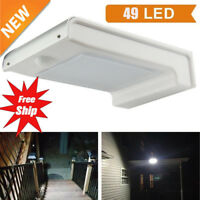 49 LED Solar Power Motion Sensor Outdoor Waterproof Garden Security Lamp Light