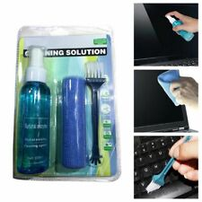 3Pcs Computer Screen Effective Cleaning Cloth Fiber Wiping Phone Laptop Cleaner