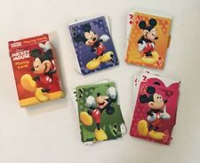 Disney's Mickey Mouse Playing Cards  Bicycle - Complete - See Photos!