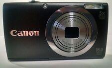 Canon PowerShot A2300 16.0MP Digital Camera - Charcoal