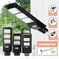 Outdoor Commercial 60/90/150/250W LED Solar Street Light IP67 Radar Sensor Lamp