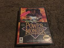 PowerMonger (Sega Genesis, 1992) W/CASE, NO MANUAL