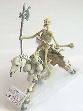 GLOW IN THE DARK SKELETON & SKELETON HORSE FANTASY FIGURE BY PAPO!! BRAND NEW!!